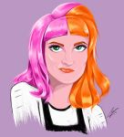 Hayley Williams animated style by piratebutl23