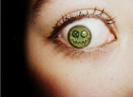 'Fun Ghoul' Frank Iero Inspired Eye by Ier0