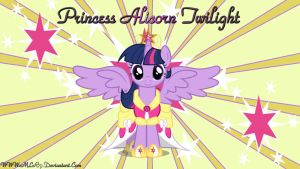 Princess Alicorn Twilight by MLR19