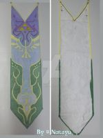 Princess Zelda TP Royal Tapestry front and back by Narayu-Crea