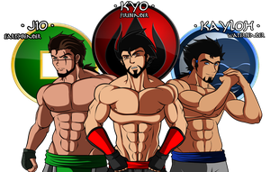 Lok OC: My boys by wLadyB91