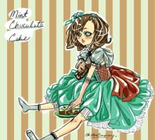 Mint Chocolate Cake Adoptable: OPEN by ConnieConnConn