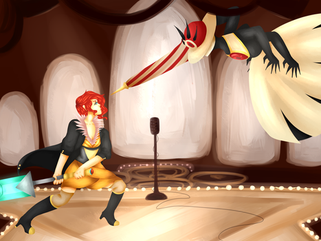 TRANSISTOR by stars-and-static