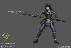 Ashigaru - Female by dinmoney