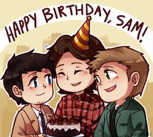 SPN - Happy birthday, Sammy by say0ran