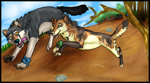 We Played in the Dirt by BlackTailwolf