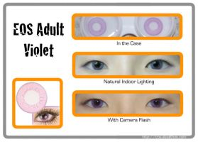 EOS Adult Violet Lenses by Stealthos-Aurion