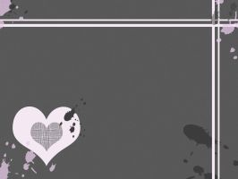 Wallpaper: Pink + Grey 2 by boredom-and-doodles