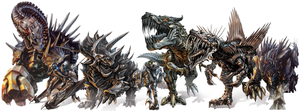 Transformers 4 Age Of Extinction Dinobots by TFPrime1114