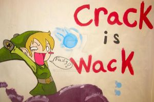 Remember Kids, Crack is Wack by llToyBoxll
