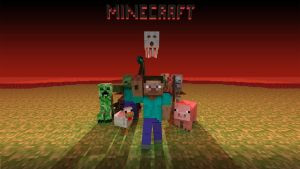 Minecraft Wallpaper 1 by Andrey-S