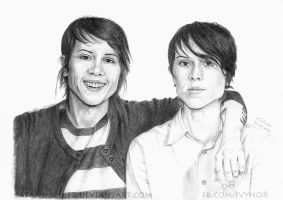 Tegan and Sara by satans-anger
