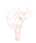 .Chibi sketch wip. by Al-ix