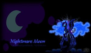 Nightmare Moon Wallpaper by InternationalTCK