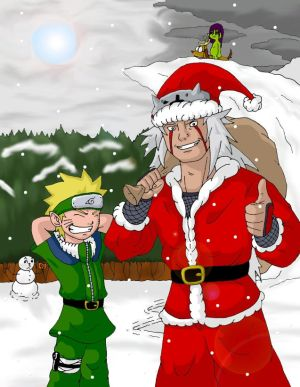 Blagues et Histoires droles. - Page 2 Jiraiya_Claus_by_DetectiveX