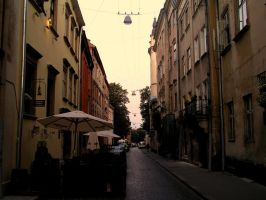 Unknown street by Solitae