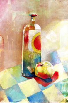 bottle.and.apple by betteo
