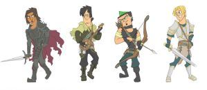 Total Drama Fantasy (boys) by Kikaigaku
