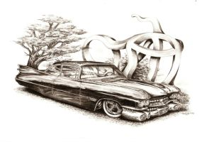 Cadillac Coupe DeVille OL' LO by Medvezh