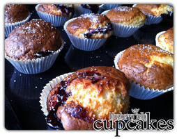 cupcakes - blueberry jelly'3 by angelicetherreality