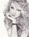 Taylor Swift by DarkCalamity