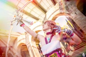 Ultima Arrow - Serah Farron (Final Fantasy XIII-2) by AndyWana