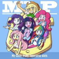 My Little Pony Equestria Girls by vincentowo