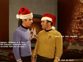 Xmas spirk by Gatewhale