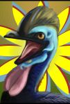 Hey there, it's Cassowary by Unibomber703