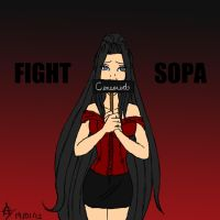 Fight SOPA by CelestialRainfall