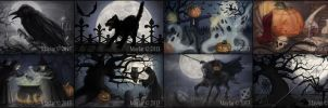 Halloween Book (illustrations only) by Maylar