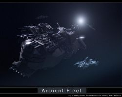 Ancient Fleet by Mallacore