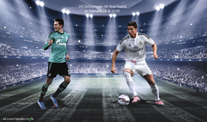 Schalke Real Madrid by Matebarchuc