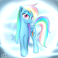 Rainbow Dash is 20 Percent... Erm... by Reikomuffin