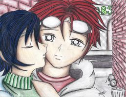 Renno And Yuffie by MarieJane67777