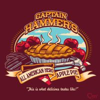 Captain Hammer's All American Hero Apple Pie by Bamboota