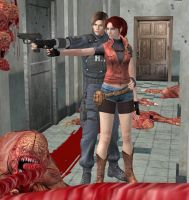Resident Evil 2 - Cleon by dnxpunk