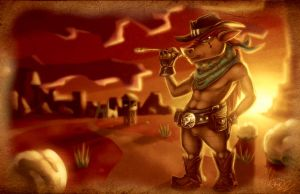 Wild Wild West Yall by Omegaro