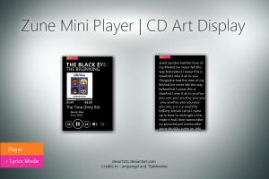 Zune Mini Player by DevArt101