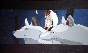 Princess Mononoke by 5cris5