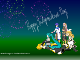 July 4th, 2009- Vocaloid style by ShadowRyuu