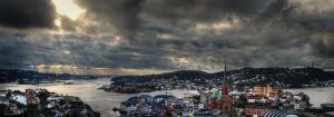 Arendal City Panorama by ojhaugland