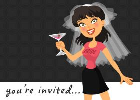 Bachelorette Party Invitation by Nyrak