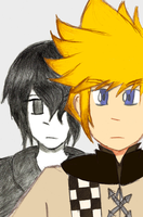 Kingdom Hearts - Roxas by JaredHedgehog