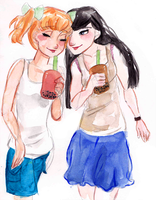 Bubble Tea Date by maybelletea