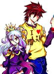Commission: Shiro and Sora No Game No Life by Smudgeandfrank