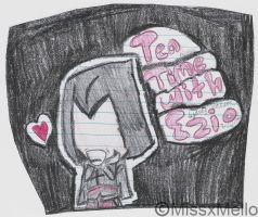 Tea Time with Ezio by missxmello
