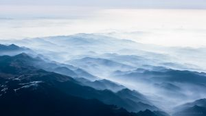Clouds chasing the alps by mbielstein