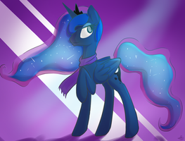 Princess Luna by Cosmic-Nova