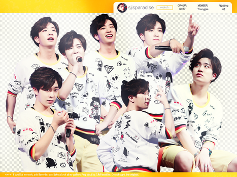 PNG Pack | 07 PNG HQ | GOT7 | Youngjae by SJIsParadise